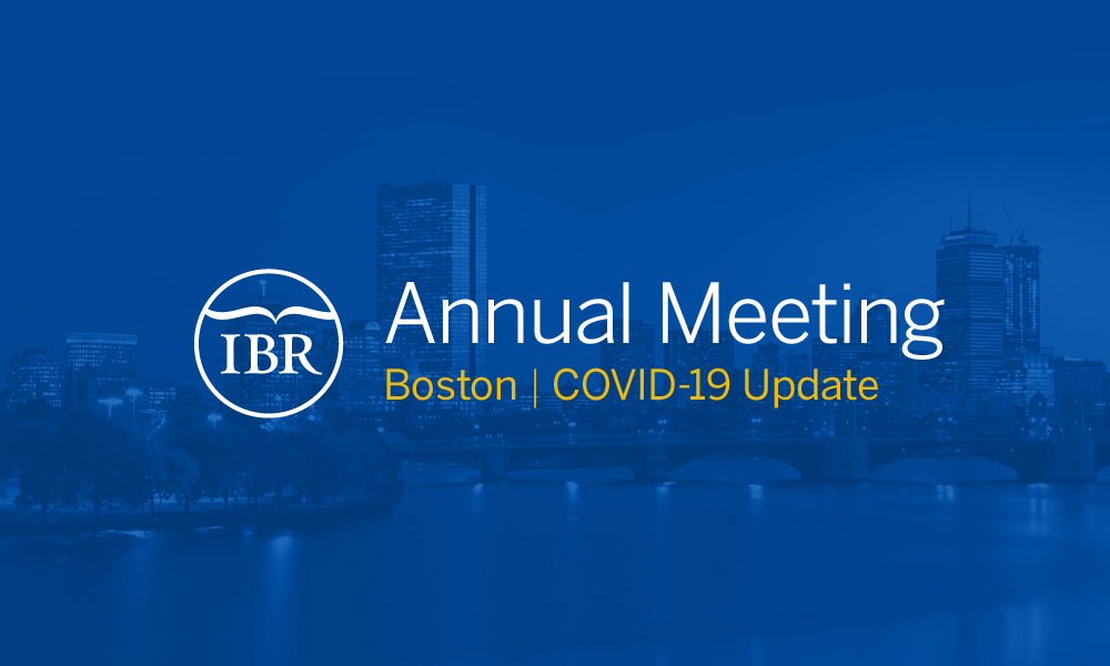 IBR Annual Meeting in Boston, 2020